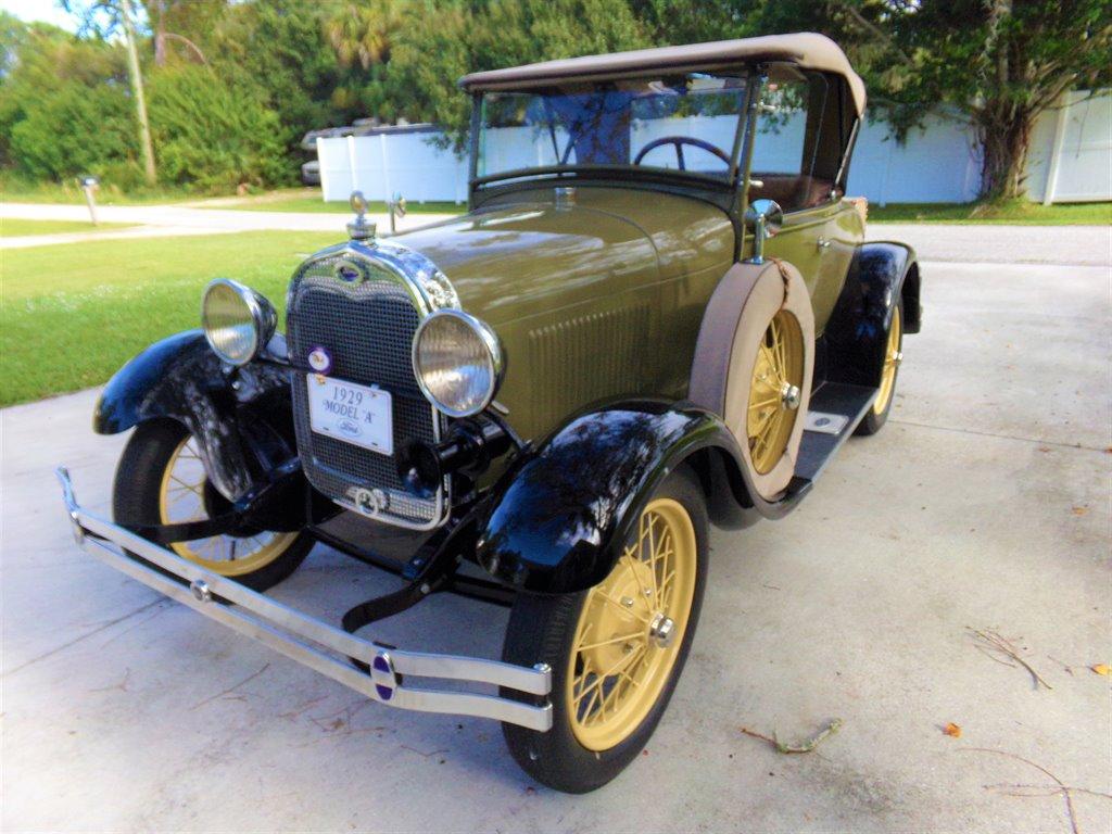 1929 フォード モデルA デラックス